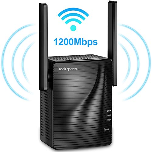 WiFi Repeater - Ripetitore Wi-Fi 1200 Mbps Dual Band 5G&2.4G, Access Point, Porta LAN e Ethernet,...