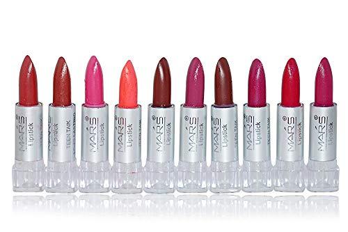 Mars Shade-A Mini Lipstick, Multicolor/10 Pieces, 119g