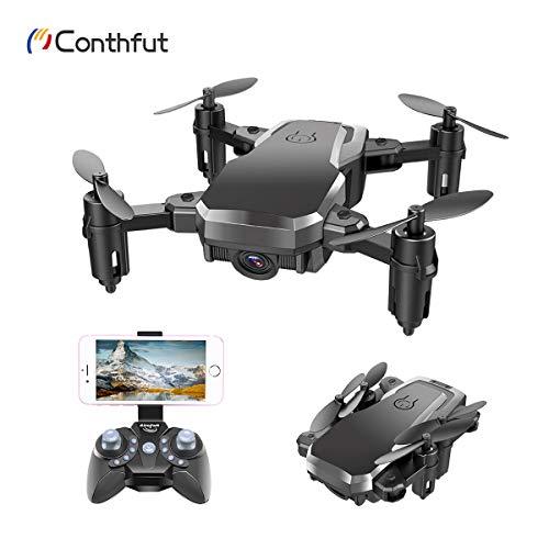Conthfut C16W 1Drone WiFi FPV Quadcopter con 720P Telecamera Telefono App Controllo Elicottero...