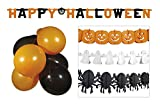 Boland 74588 Halloween Party Set, Orange/Noir/Blanc
