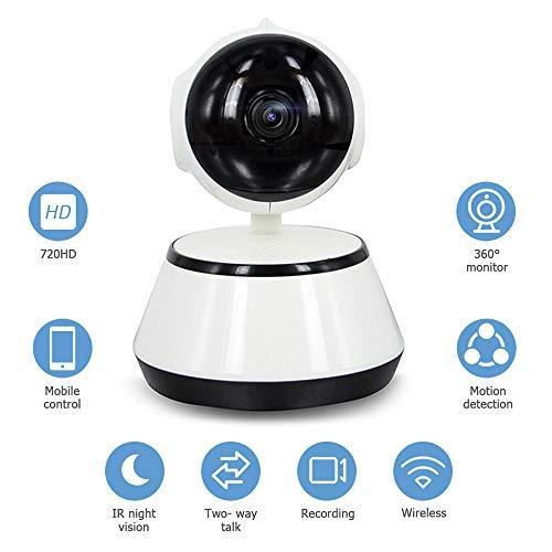 Decdeal Baby Monitor 720P Videocamera HD con WiFi Wireless APP Controllo IR Notte Vision per Baby Sicurezza Baby Monitor EU