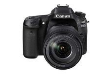 Canon EOS 80d EF-S 18–135IS Nano USM Cámara Réflex, color Negro