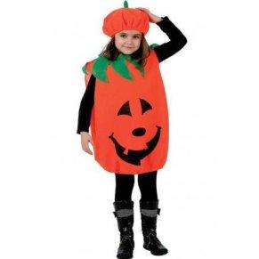 ATOSA disfraz calabaza niña infantil sonriente 7 a 9 años