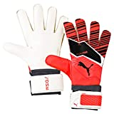 PUMA One Grip 4, Guanti Portiere Unisex Adulto, Nrgy Red Black White, 8