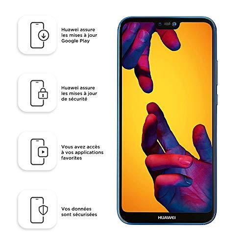 Huawei P20 Lite 64 GB/4 GB Dual SIM Smartphone - Klein Blue (West European Version)