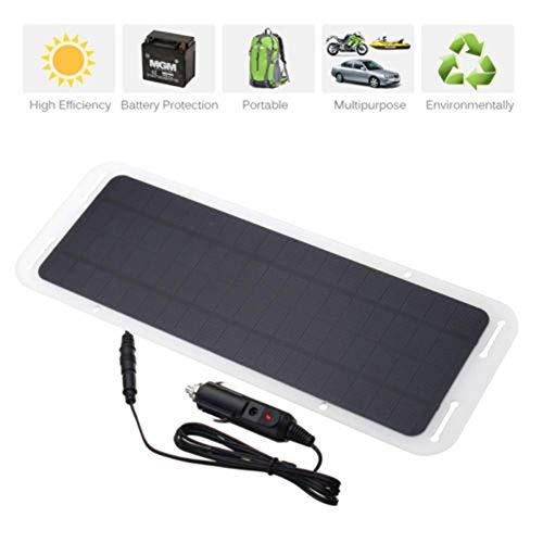 MAG.AL 12V 5W Portátil Panel De Energia Solar Batería Fotovoltaica Emergencia Impermeable Al Aire Libre Cargador Coche Bote Motocicleta