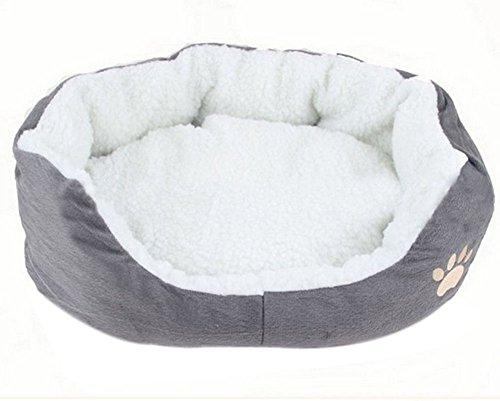 Aikesi - Lettino per animali domestici, caldo, morbido
