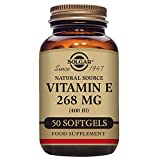 Solgar Natural Source Vitamin E 268 mg (400 IU) Softgels - Pack of 50