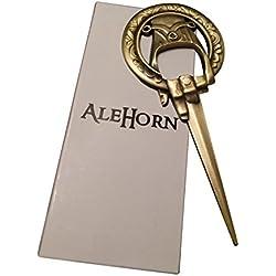 """AleHorn """"Mano del Rey"""" y """"Juego de tronos"""" abridor de botellas estilo"""