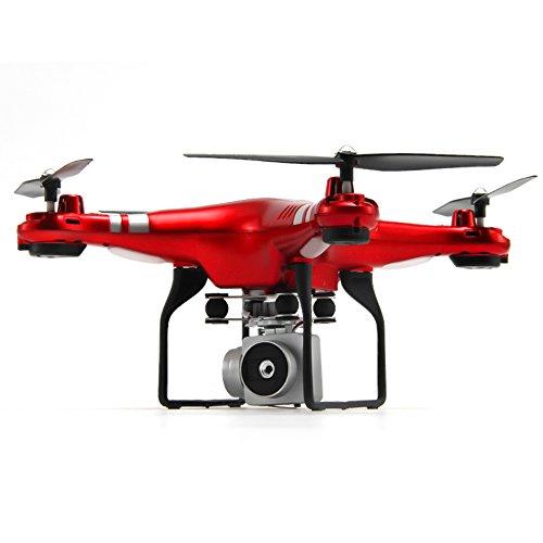 Drone für Anfänger Kinder Erwachsene Kinder Ausgestattet mit 6 Achsen Gyro 360 ° Rolle Headless-Modus Höhe Halten Wifi FPV 1080 P HD Kamera 120 ° Weitwinkel und 270 ° Einstellbar Remote Aircraft.