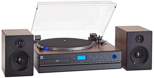Dual NR 100x impianto compatto (sintonizzatore DAB (+)/FM, lettore CD/MP3, porta...