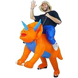 Bodysocks Disfraz Hinchable de Triceratops
