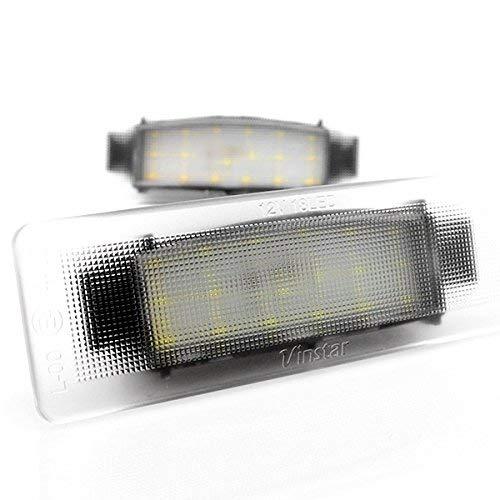 LED luci della targa di immatricolazione con e approvazione