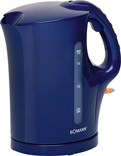 Bomann WK 5011 CB Wasserkocher, blau