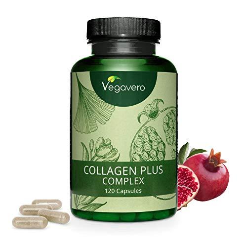 COLLAGENE Vegetale Vegavero | 700 mg | NON OTTENUTO DA SCARTI ANIMALI | 120 capsule | Senza GELATINA | Vegan