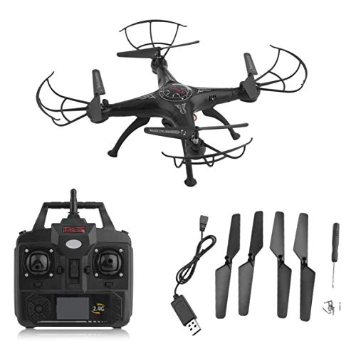 X5SW-1 6-Axles Gyro RC Quadcopter 2.4G 4 CH Drone Compact RC Helicopter con 0.3MP WiFi FPV Macchina...