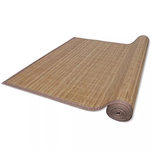Vislone Tappeto bambù Marrone 200 x 300 cm (P x L)