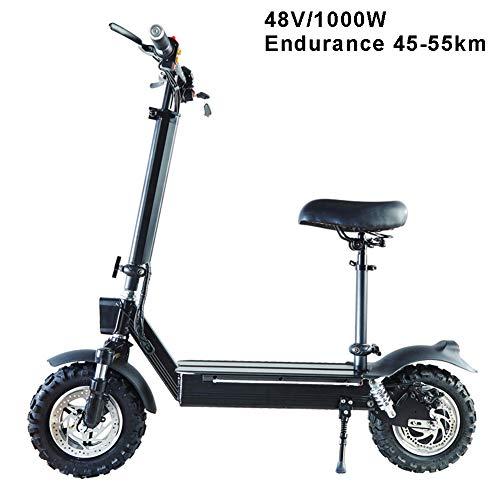 Xb Scooter Elettrico-Leggero, Pieghevole E Facile da Trasportare, Altezza-Regolabile, Mini-Scooter...