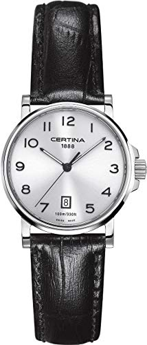 Certina Damen-Armbanduhr XS Analog Quarz Leder C017.210.16.032.00