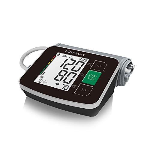 Medisana BU 516 Sfigmomanometro da Braccio Indicatore aritmie, 90 spazi di memoria per ciascuno dei...