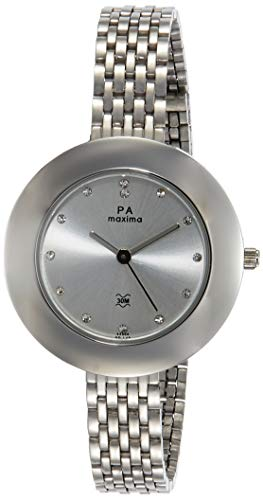 Womens Wristwatch Analog Silver Dial Women's Watch-O-44904CMLI