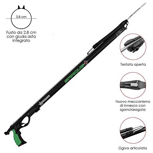 Arbalete sargus abysstar fucile da sub pesca lunghezza cm 72 (1000046499)
