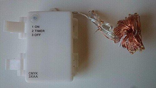 CMYK-98-ft3-M-1960-Guirlande-lumineuse-LED-Blanc-chaud-Exploitations-Temporisation-H-LT-Batterie-fil-de-6-24-heures