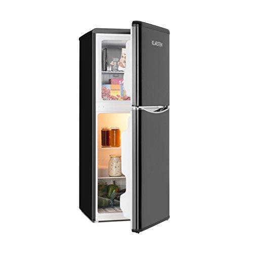 Klarstein Monroe L • frigorifero-congelatore • Look retrò • frigorifero da 70 litri •...