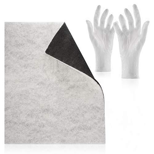 Doppio filtro con filtro a carboni attivi Comfort - Confezione guanti intercambiabili Taglio...