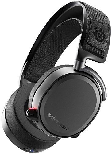 SteelSeries Arctis Pro Wireless - Casque Gaming sans fil (2,4 G & Bluetooth) - Pilotes d'enceintes haute résolution - Noir