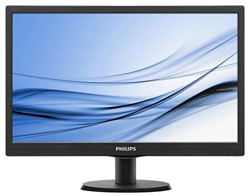 """Phillips Ecran PC LED 18.5"""" 1366x768 16:9 5ms 23"""