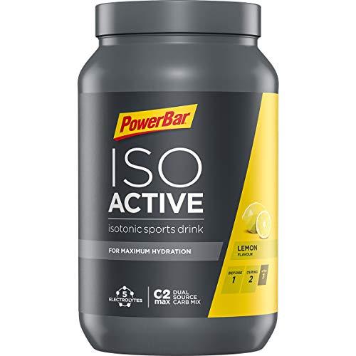 Powerbar Isoactive Suplemento, Sabor Lemon - 1320 gr
