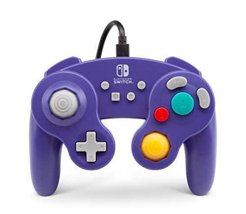 PowerA NSW GameCube Wired Controller Purple