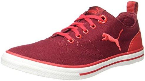 best service af66f 5cda8 Puma Unisex Slyde Dp Tibetan Red-Cherry Tomato Sneakers – 10 UKIndia (44.5  EU)