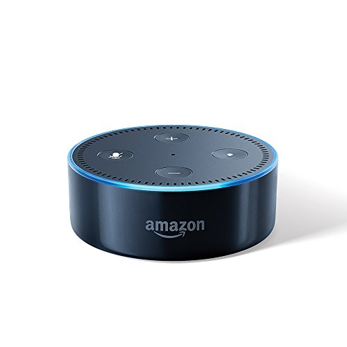 Echo Dot (2nd Gen) - Smart speaker with Alexa (Black)
