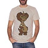 T-Shirt San Hormone Monster Maurice Big Mouth - Film Choose ur Color - Uomo-L-Sand