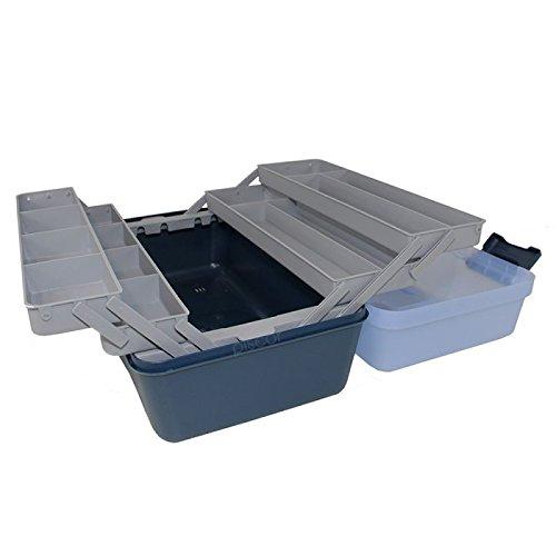 valigetta cassetta cassettina porta oggetti 6 ripiani mm.460x282x253 H