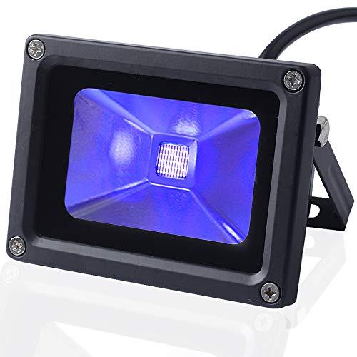 UV Blacklight CHINLY IP65 Proiettore a LED ultravioletto da 10 Watt per Club