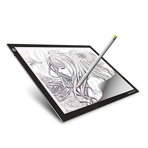 Tavoletta Luminosa a4-5mm Lavagna Luminosa da Disegno Pad per Artisti Sketching Animation Sketch...