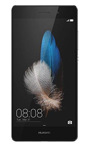 Huawei P8 Lite 16GB 4G Black - smartphones (Android, NanoSIM, GSM, HSDPA, HSUPA, UMTS, LTE, Micro-USB)