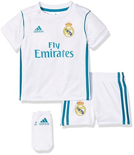 adidas Real H Baby Set, Blanco/Azuint, 80