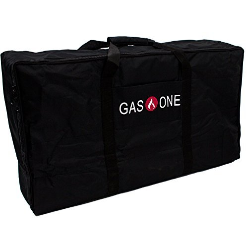 Gas One NEW Propane Stove Burner Universal Carry Bag for Double Burner cooker Grills Heavy Duty FITS Gas One Double Burner, Camp Chef & All other similar sized burners
