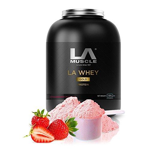 LA Muscle LA Whey Gold 100% lactosérum pur supplément de protéines en poudre, eau à la bouche Saveurs; Prix protéine Gagner, élue meilleure ... 21
