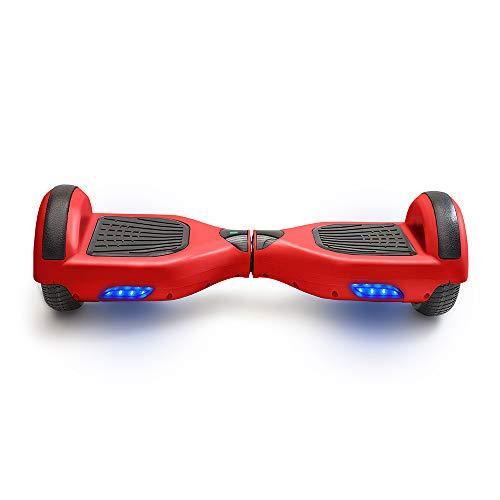 ACBK Hoverboard Scooter Elettrico Autobilanciato 6.5' (Rosso)