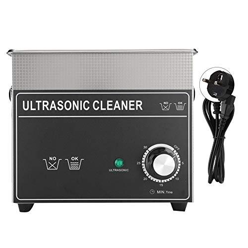 Pulitore ad ultrasuoni professionale, CJ-020B 3.2L Pulitore ad ultrasuoni Riscaldatore Orologi Occhiali Strumento per la pulizia dei gioielli(3.2L)