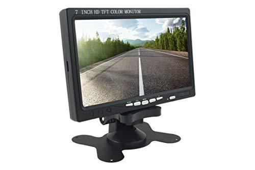 VIDOELETTRONICA Monitor LCD 7.0 Pollici Hdmi 1024x600 Con Telecomando Per Auto VideosorveglianzA