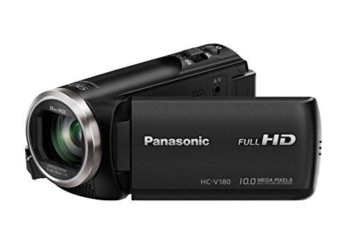 Panasonic HC-V180EG-K Videocamera Full HD, Nero