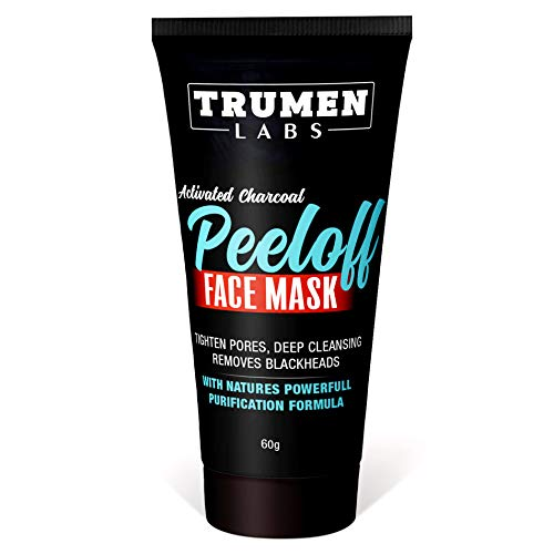 Trumen Activated Charcoal Peel Off Face Mask for All Skin Types