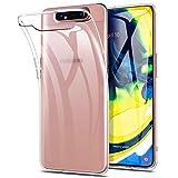Yocktec Funda para Samsung Galaxy A80, Funda Carcasa de Gel Ultrafina y Suave de TPU [Resistente a rayones] [Absorción de Choque] para Smartphone Samsung Galaxy A80(Transparente)