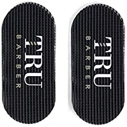 TruBarber Hair Grippers - Black/Red